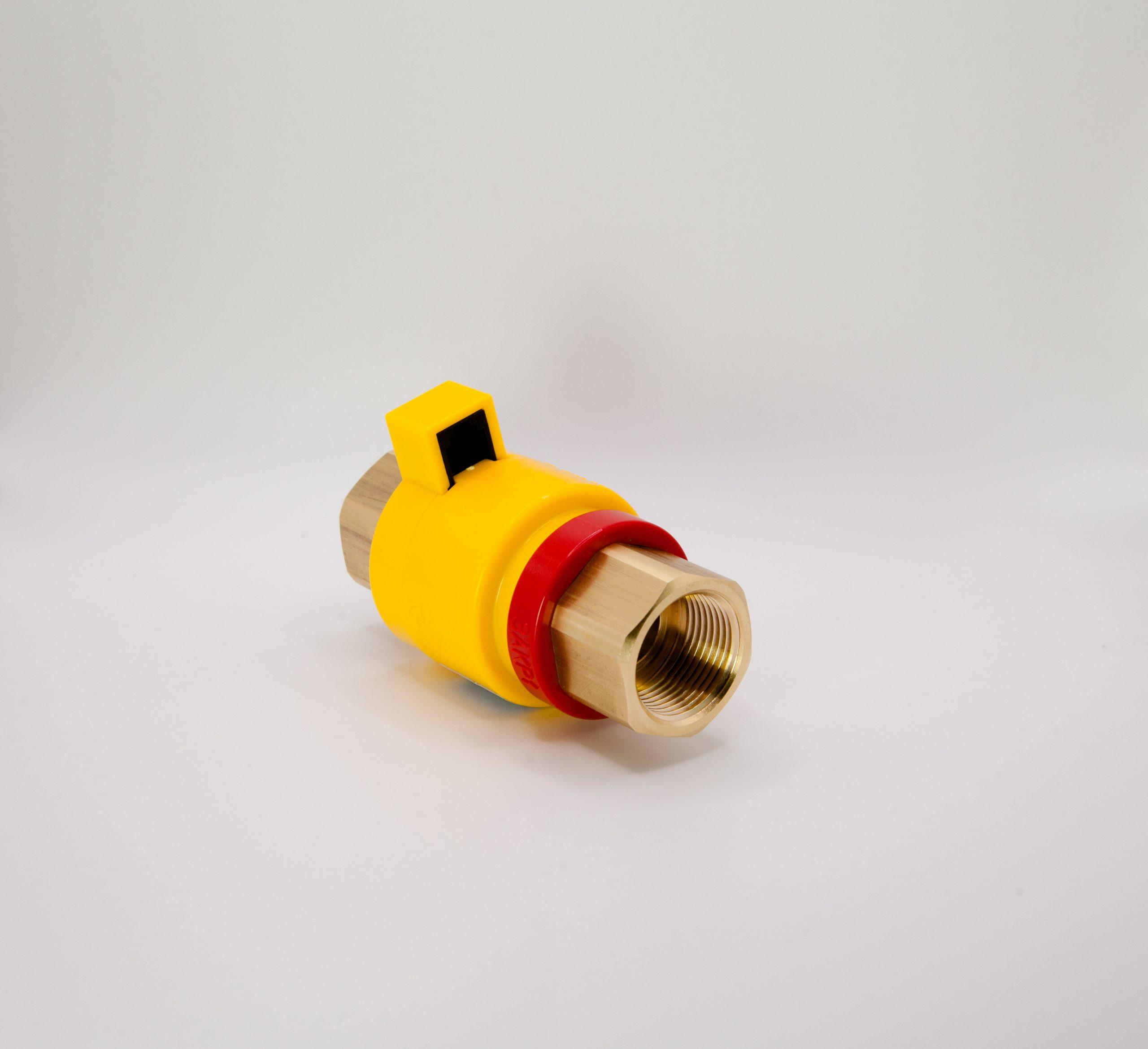 Клапан газовый запорный с электромагнитным управлением КЗЭУГ-Б