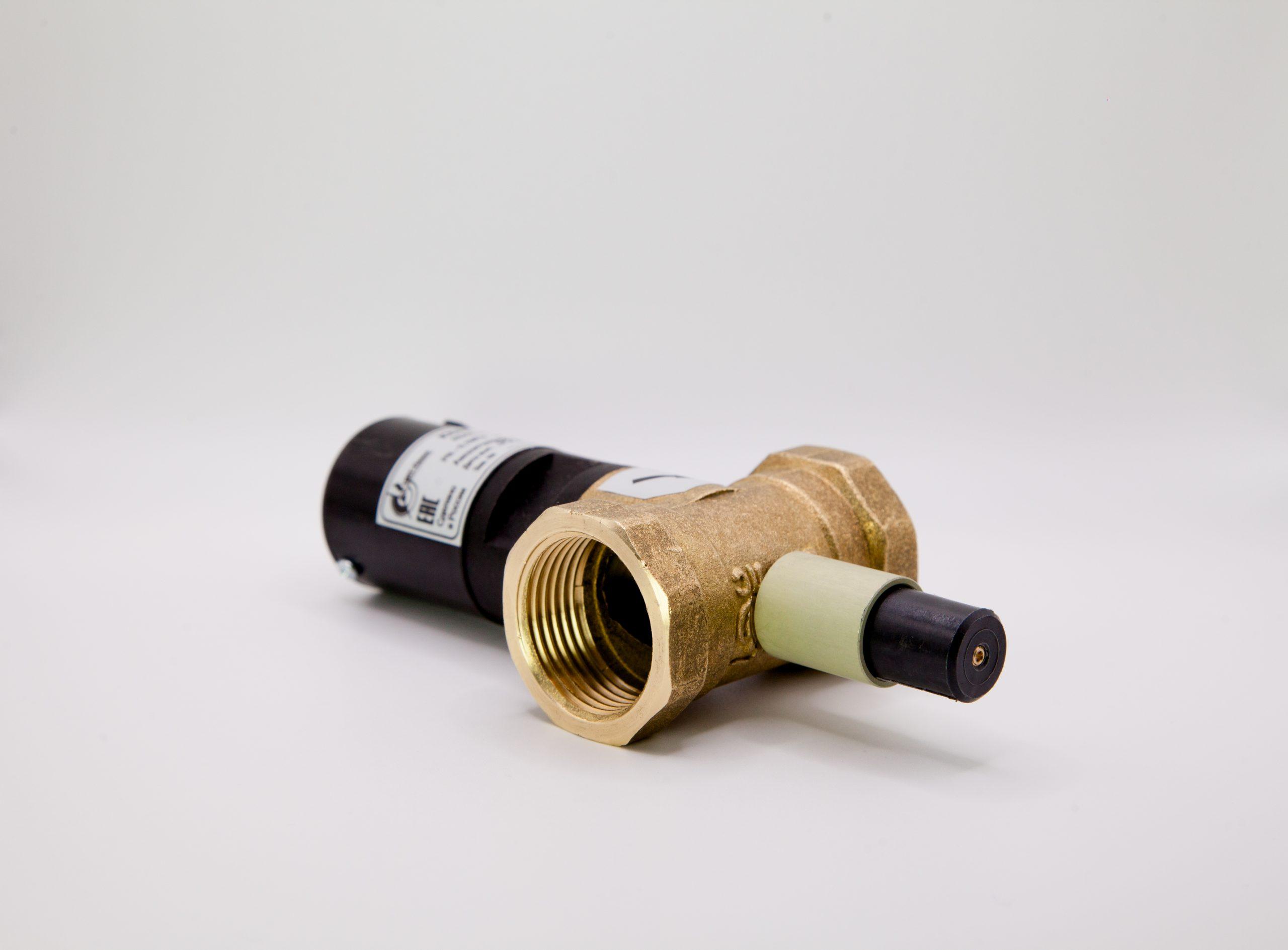 Клапан газовый запорный с электромагнитным управлением КЗЭУГ